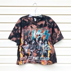 KISS The Final Tour Ever | Custom Bleached&Cropped